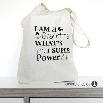Shopper Grandma Power black