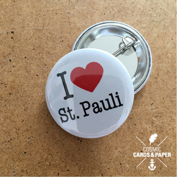 Button I love St. Pauli
